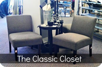 Classic Closet Chairs