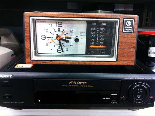 hipster's choice: a vintage alarm clock