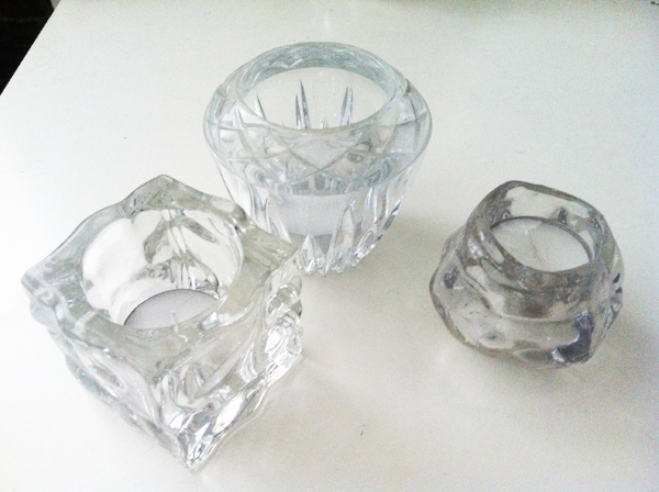 Crystal votives are always a safe, go-to gift everyone loves. These were all less than $5