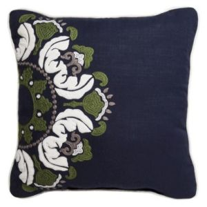 DIY Drapery Panels Inspiration from Pillow