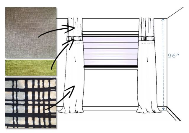 Drapery Panels - Concept Drawing