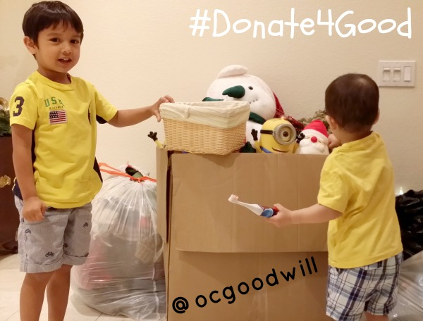 Clean Out Kid's Closets and Donate!