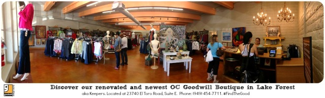 OC Goodwill Boutique in Lake Forest aka Keepers