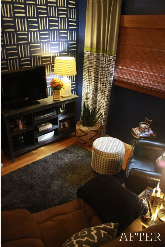 TV Room Makeover After View D