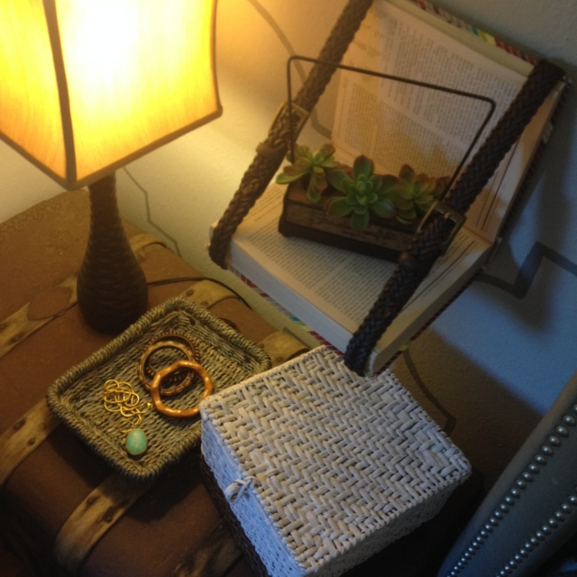 DIY Urban Belt Book Shelf