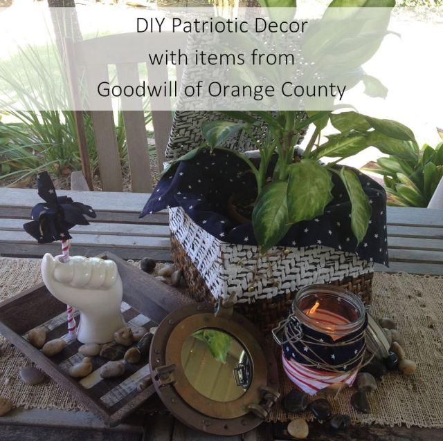 DIY Patriotic Decor Goodwill of Orange County Blog