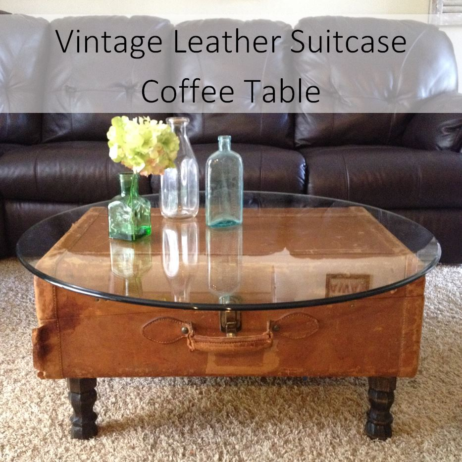 - Vintage Leather Suitcase Coffee Table Goodwill Of Orange County Blog