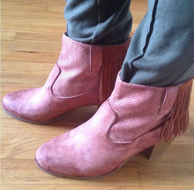ReFashion Fringed Boots
