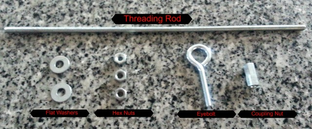Bird Feeder Supplies nuts and bolts