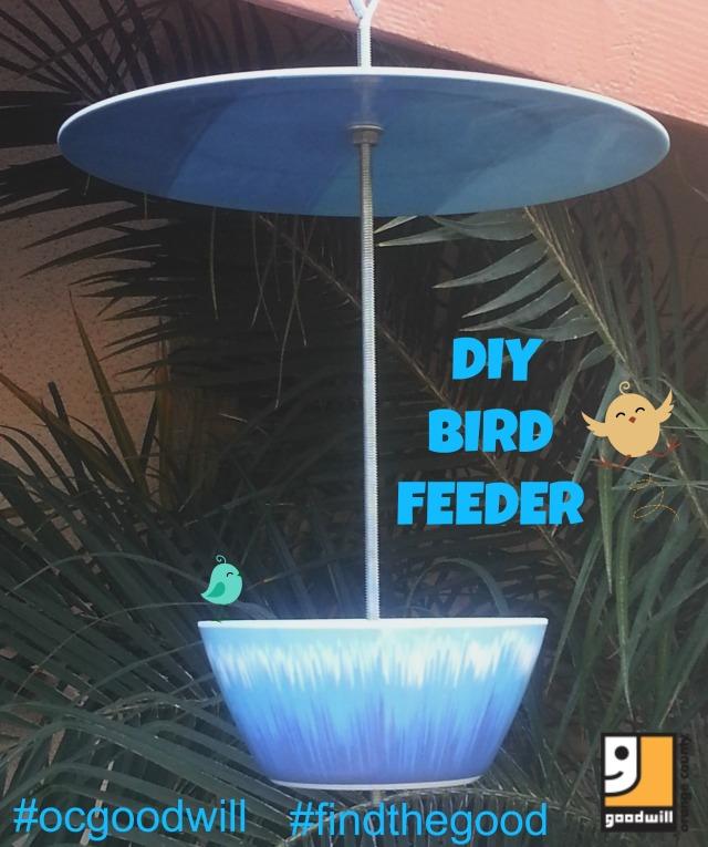 DIY Bird Feeder OCGoodwill
