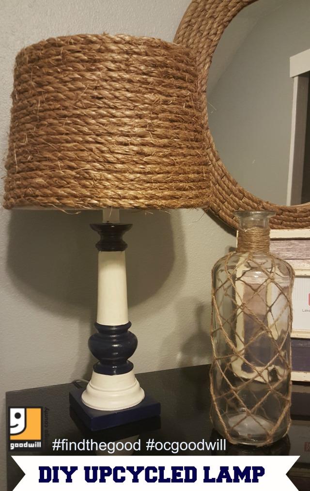 Nautical Lamp Final Goodwill