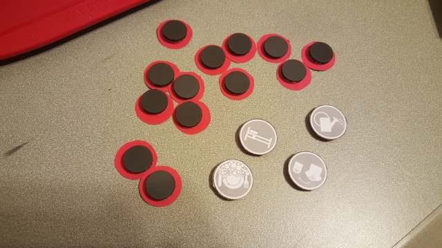 make magnets for chore chart