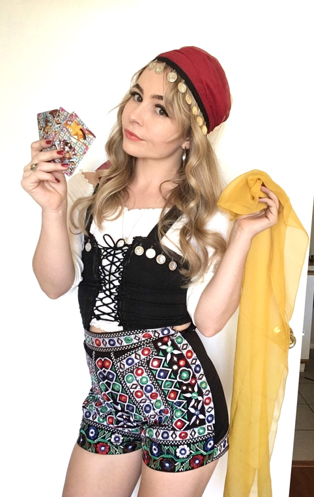 Diy Fortune Teller Costume Goodwill Of Orange County Blog